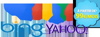 Publicités sur internet Google adwords Bing Yahoo